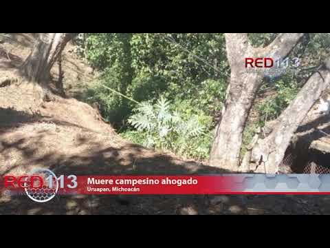 VIDEO  Muere campesino ahogado