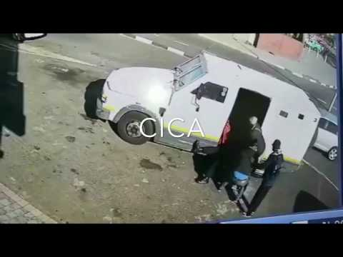 CIT - Cash In Transit Heist in Cape Town, Western Cape, South Africa
