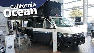 2018 VW California Ocean Walkaround in Blue Two Tone