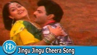 Jingu Jingu Cheera Song - Lorry Driver Movie Songs - Balakrishna - Vijayashanti