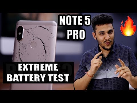 Redmi Note 5 Pro Blast? - Extreme Battery Test!