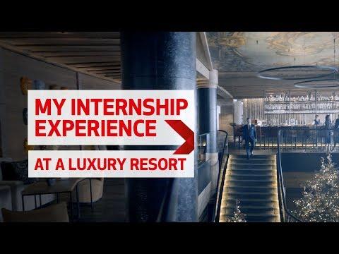 My Hospitality Internship at a Luxury Ski Resort
