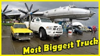 Most Biggest and Unusual Truck Dodge Ram 3500 Review 2018. Crazy Cars Show 2018