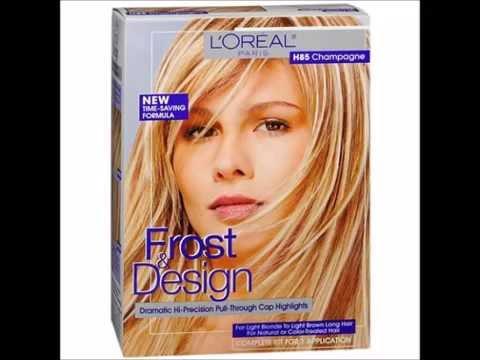 L'Oreal Paris Frost & Design Hi Precision Pull Through Cap Highlights, Frost & Design Champagne H85