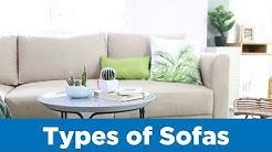 Types of Sofas - Mandaue Foam Home TV