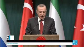 Syria  Turkish President Erdogan urges US to reverse decision to arm Kurds