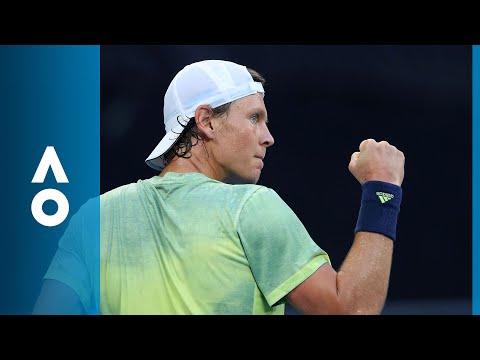 Tomas Berdych v Alex de Minaur match highlights (1R) | Australian Open 2018