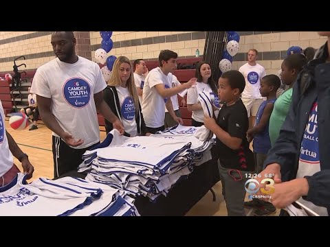 Sixers Host Annual Camden Youth Basketball Clinic