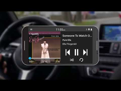 Listening to Music with Spotify in the Car with Android Phone