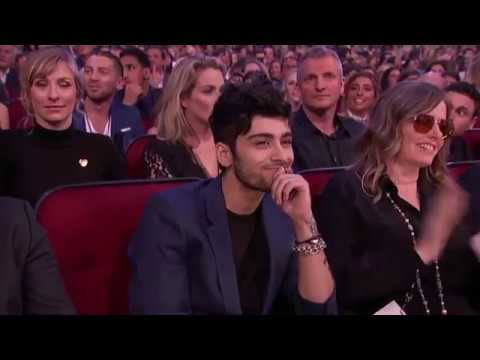 Zayn Malik Wins Best New Artist -- AMA's  2016 Music Award