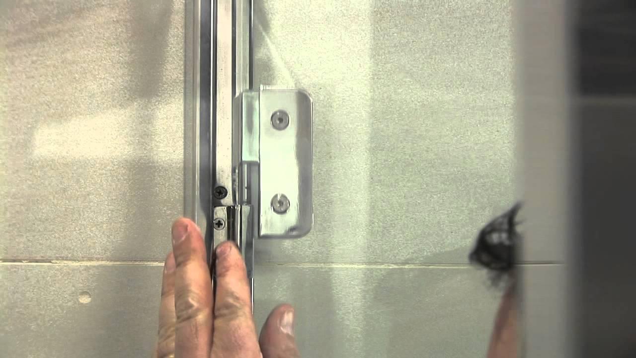 Cabina doccia Bithia - Montaggio Porta doccia - Calibe - YouTube