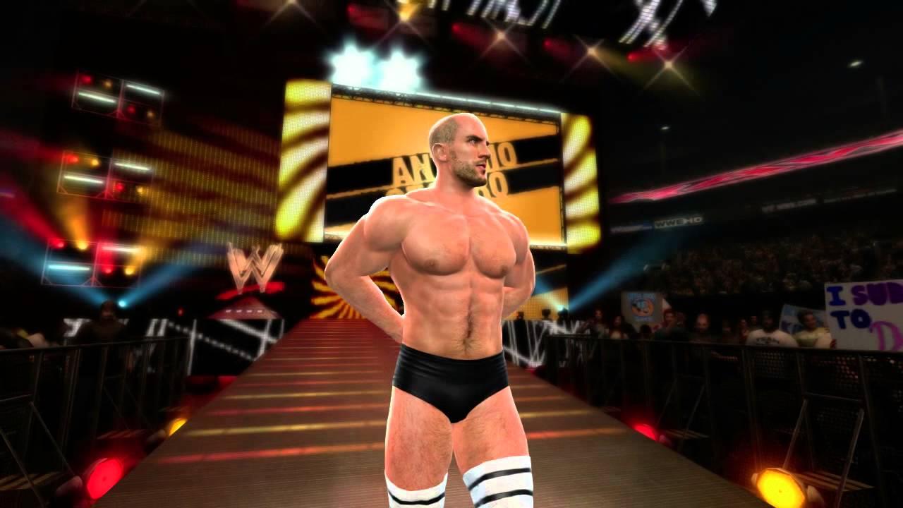 Antonio Cesaro Makes His Entrance In WWE '13