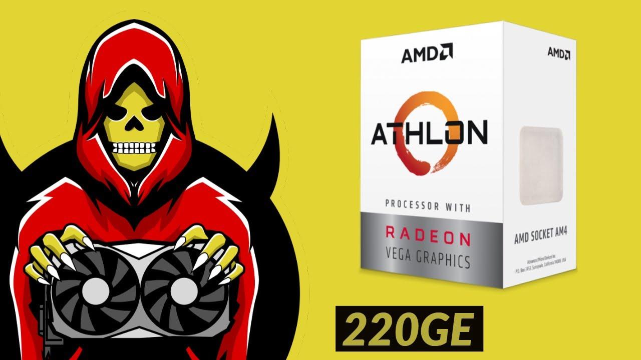 Athlon 220ge Test In 7 Games Youtube