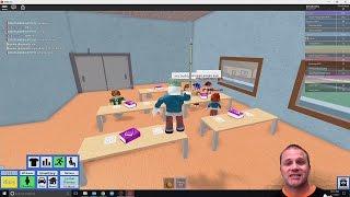 Wondering Around School | Roblox Highschool Adventures EP-3 | Gaming With Shawn Davis