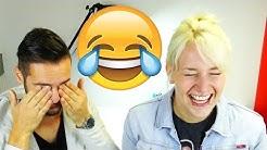 Schlechte WITZE Challenge mit WASSERBOMBEN Bestrafung| Flachwitze bringenNina und Kaanzum Lachen!