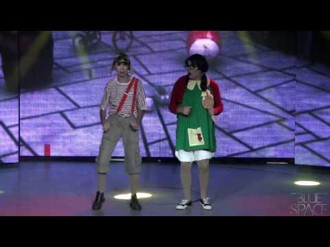 Blue Space Oficial - Valenttini Drag e Stefany Di Bourbon - 15-11-2014