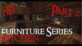 minecraft medieval kitchen furniture hd