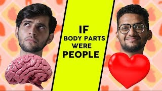 If Body parts were people | Funcho