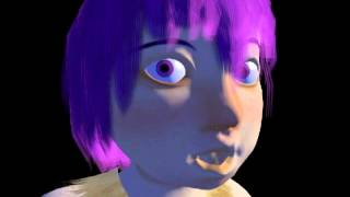 Linu Character Model Face Rig Test