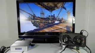 Como Instalar una Tarjeta de video externa en un mini PC o laptop (i3-5005u + Gtx 960)