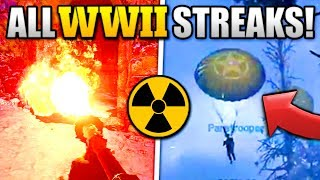 ALL KILLSTREAKS (+ NUKE?) IN COD WW2!
