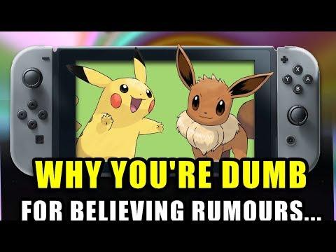 Leaks & Rumours… Pokemon Let's Go Pikachu & Pokemon Lets Go Eevee
