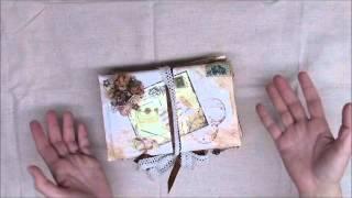 Secret Envelope Keepsake Box