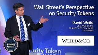 Former Nasdaq Vice Chairman Addresses Wall Street's Perspective on Security Tokens