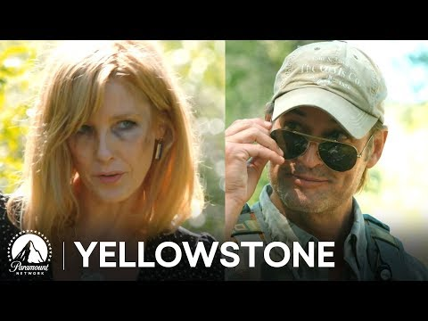 Beth Dutton Meets Roarke Morris   Yellowstone Season 3   Paramount Network