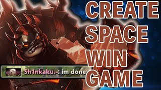 How to play offlane pudge? 7K MMR Coach helps me carry an angry Invoker | ROAD TO 6K EP7
