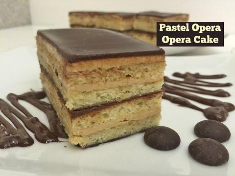 Pastel Opera/Opera Cake Facil y Exquisito