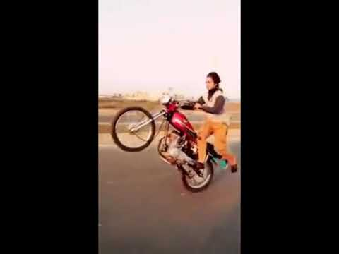 Dangerous One Wheeling In karachi Pakistan