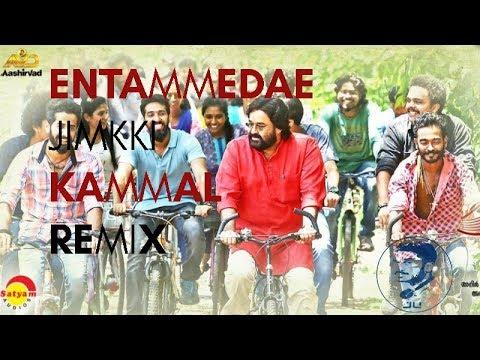 Entammede Jimikki Kammal Remix | Velipadinte Pusthakam | Vineeth Sreenivasan ft jU