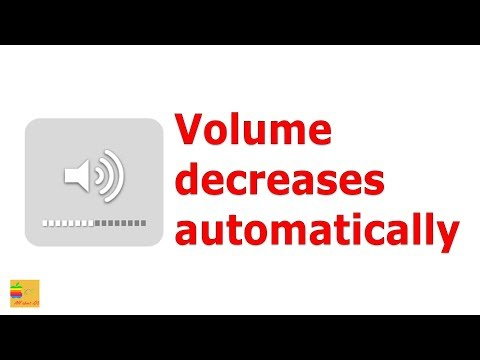 Volume decreases on its own | iPhone