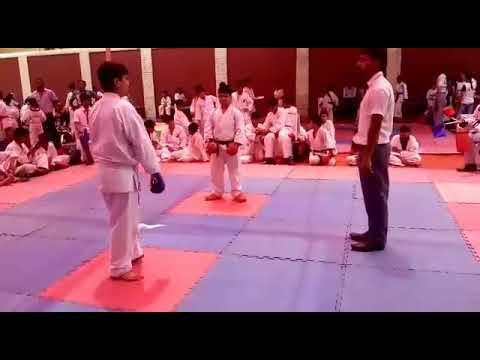 Gurung Karate Academy-regd Student #Navshwaroop Singh win #Gold Medal #Karate #Championship 2017