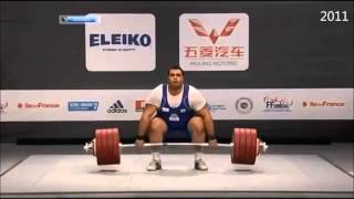 Behdad Salimi Kordasiabi at World Weightlifting Championships 2010 - 2014