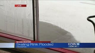 Heavy rains close Winterhawks skating center