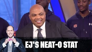 Auburn Basketball Surprises Chuck | EJ Neat-O Stat