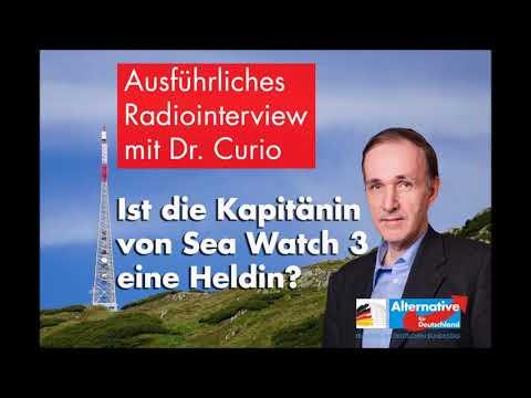 Über die Sea-Watch-Kapitänin Rackete   Dr. Gottfried Curio