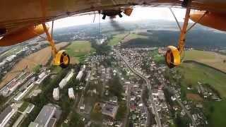 GoPro Hero3: Flug über Auerbach/Vogtland / Scenic Flight Germany