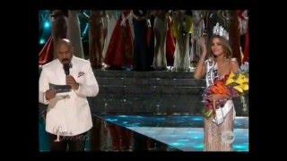 Miss Universo 2015 Equivocación
