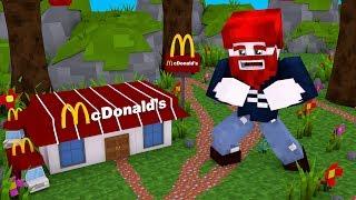 Ich baue ein McDonalds aus 1 Block 😂
