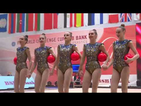 Groups 5 Balls Qualification World Challenge Cup Minsk 2019 - part 1