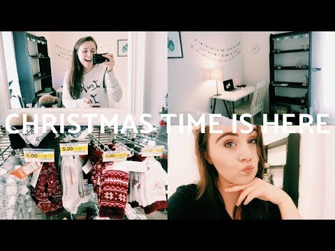CHRISTMAS TIME IS HERE | WEEKLY VLOG #10
