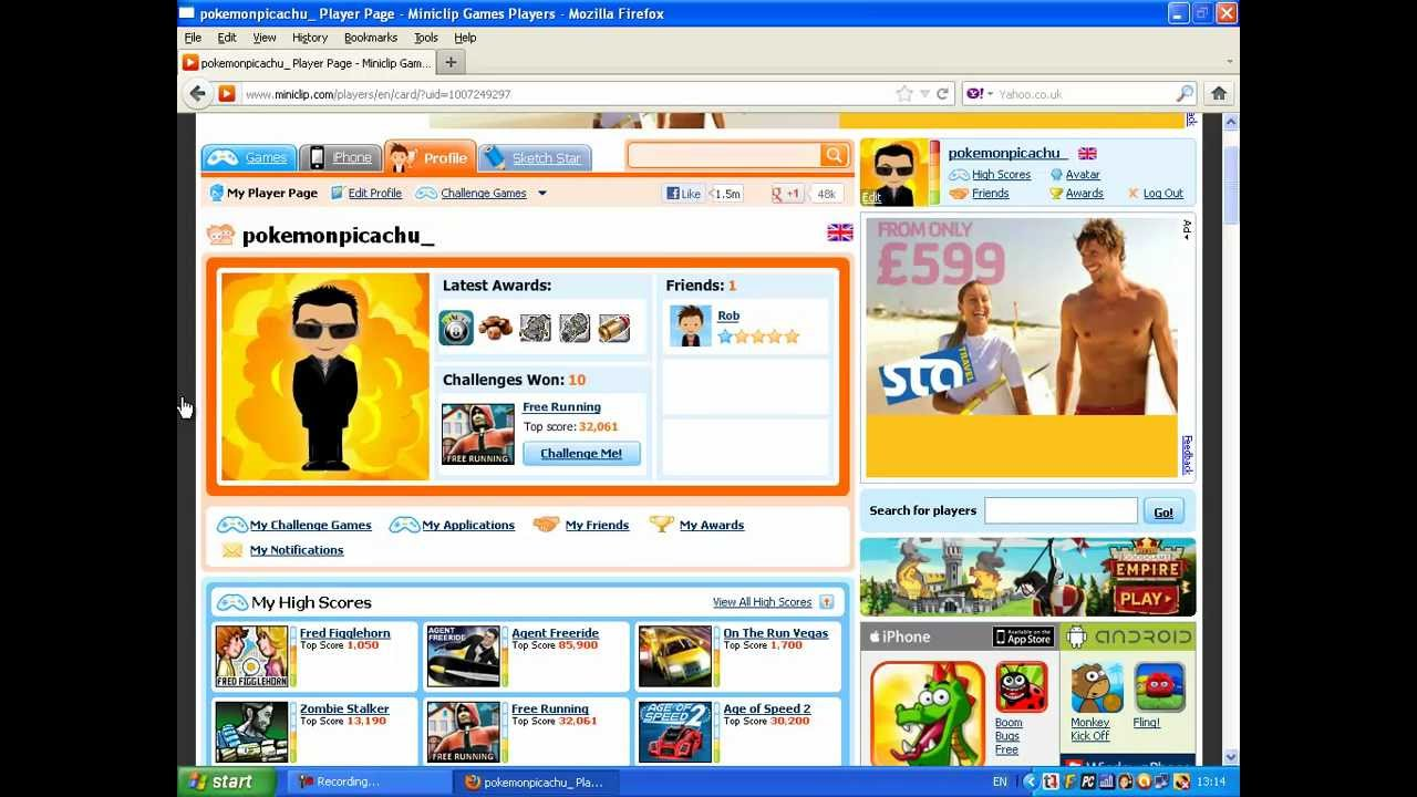 Miniclip account giveaways