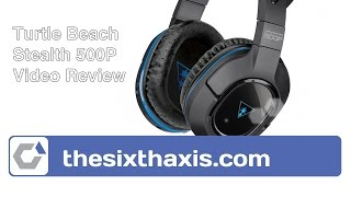 turtle beach stealth 500p review