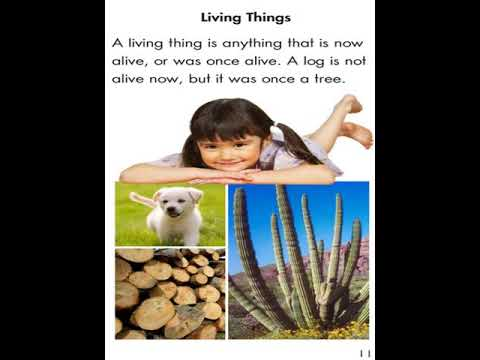 3rd Grade Science 2 Living And Non Living Things Review Video Youtube