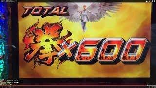 鉄拳3rd 神鉄拳BONUS中の鉄拳アタック(0G連)です。 最後にゲーム数...