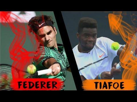 Roger Federer VS Frances Tiafoe - Miami 2017 - LIVE
