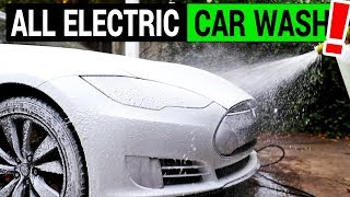 Electric Car Wash with an Electric Pressure Washer: Sun Joe Review